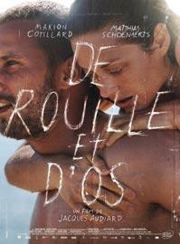 Locandina del film Un sapore di ruggine e ossa di Jacques Audiard