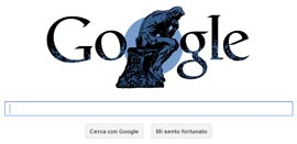 Google Doodle - Auguste Rodin