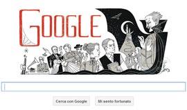 Google Doodle - Bram Stoker - I LIBRI