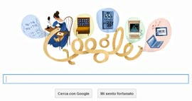Google Doodle - Ada Lovelace