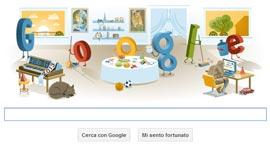 Google Doodle - Buon Anno 2013