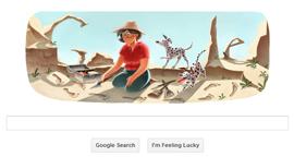 Google Doodle - Mary Leakey