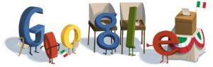 Doodle Google Elezioni Italia 2013