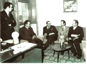Una foto nel servizio di Rosebud dedicato a Vincenzo Guarna