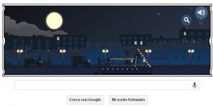 Doodle Google Claude Debussy 22 agosto 2013 - 151° anniversario nascita