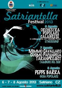Locandina Satriantella Festival 2013