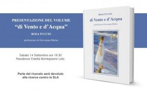 """Presentazione """"di Vento e d'Acqua"""" di Rosa Tuccio"""