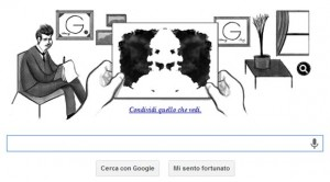 Google Doodle - Hermann Rorschach