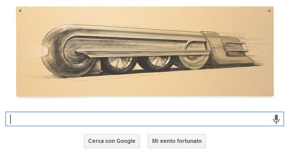 Google Doodle - Raymond Loewy