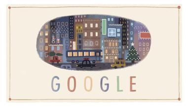 doodle buone feste 25 dicembre 2013