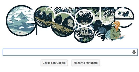Google Doodle - Dian Fossey
