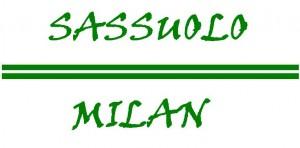 sassuolo - milan