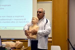 Prof. Umberto Conforti durante una fase del seminario
