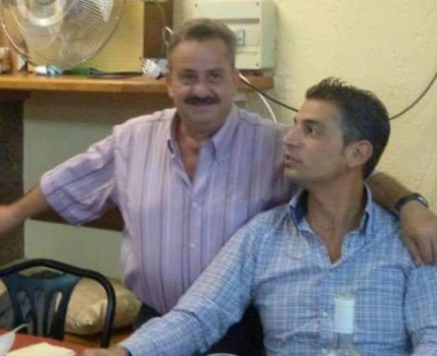 Nella foto Franco Cosentino (Badoglio) e Alessandro Catalano