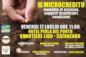 """""""Il Microcredito"""" evento organizzato dal Meetup Il Territorio Cinque Stelle"""