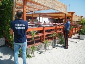 Calabria – Sequestrato stabilimento balneare abusivo