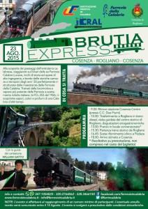 23 Agosto 2015: Ritorna il treno a vapore di Ferrovie della Calabria