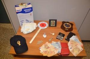 Droga: arrestate due persone per possesso sostanze stupefacenti