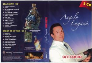 COPERTINA DOPPIO CD ORA CANTO ANGELO LAGANA OTTOBRE 2015