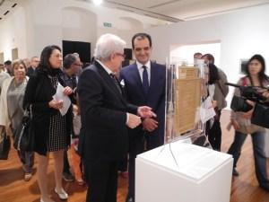 "Catanzaro – Inaugurata la mostra ""Alberto Biasi. Start up & Environment"""