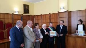 L'amministrazione comunale di Girifalco conferisce la cittadinanza onoraria a Giuseppe D'Agostino
