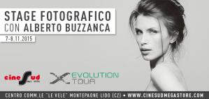 Alberto Buzzanca ospite del Fujifilm Day nella galleria fotografica di Montepaone
