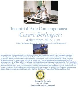 Montepaone – Venerdì 4 dicembre evento di arte contemporanea