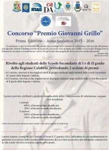 """Crotone – Grande partecipazione delle scuole calabresi al premio """"Giovanni Grillo"""""""