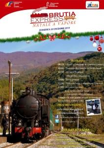 Natale a tutto vapore con il Brutia Express