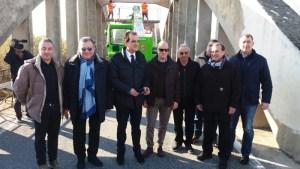 Consegnati i lavori per la messa in sicurezza del ponte sul fiume Ancinale