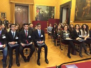 Giornata di formazione a Montecitorio per due classi del Liceo Scientifico di Soverato