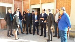 Il presidente della Provincia Bruno in visita ad alcuni istituti scolastici di Lamezia Terme