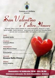 """Girifalco – Convegno """"San Valentino e l'altro Amore"""""""