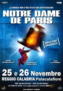 """""""Notre Dame de Paris"""" con le musiche di Riccardo Cocciante e il cast originale a novembre a Reggio Calabria"""