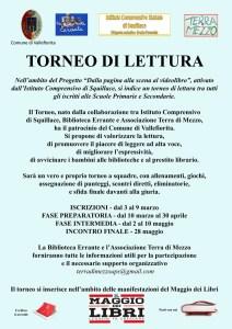 Torneo di lettura tra i ragazzi di Squillace, Amaroni, Vallefiorita e Stalettì