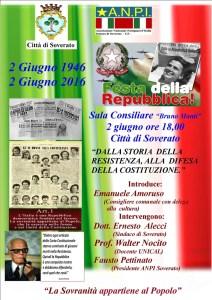 L'ANPI di Soverato celebra la Festa della Repubblica