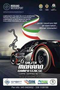 La IV prova del Campionato Italiano Velocità Montagna sul Pollino