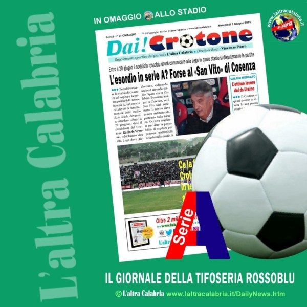 L'altra Calabria - supplemento Crotone Calcio