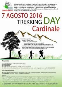 Cardinale – Domenica 7 agosto il Trekking Day