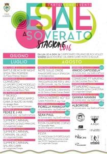 Soverato – Programma completo eventi Estate 2016