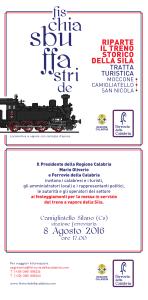 Ferrovia Silana – Lunedì 8 agosto il ripristino del treno a vapore
