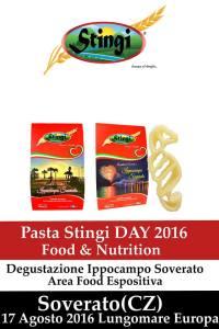 Pasta Stingi Day 2016. L'evento sul Cibo e la Nutrizione a Palermiti e Soverato