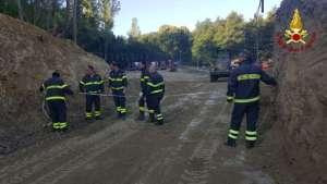Continua il lavoro dei Vigili del Fuoco Calabria nelle zone del centro Italia colpite dal sisma