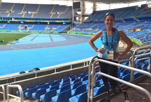 La calabrese Giusy Versace pronta per i 400 m alle Paralimpiadi di Rio