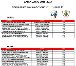 Calcio a 5 Serie D – A Gioiosa l'esordio per il Club Quadrifoglio Soverato