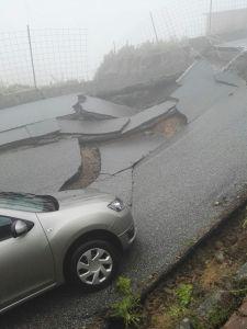 Girifalco – Chiusa la strada crollata stamattina