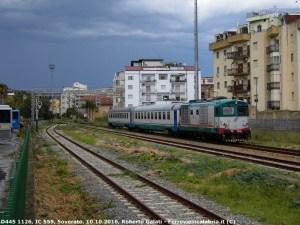 Dal 12 Febbraio raddoppia l'InterCity Reggio Calabria-Taranto