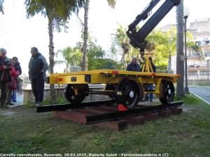 Soverato – Monumentato storico carrello ferroviario