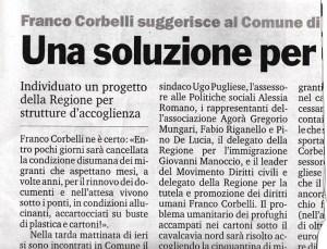 Lezione di grammatica a Corbelli, e alla Calabria in genere