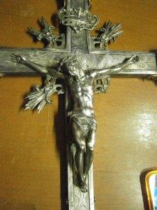 Un'opera d'arte di Soverato Superiore: il Crocifisso d'argento